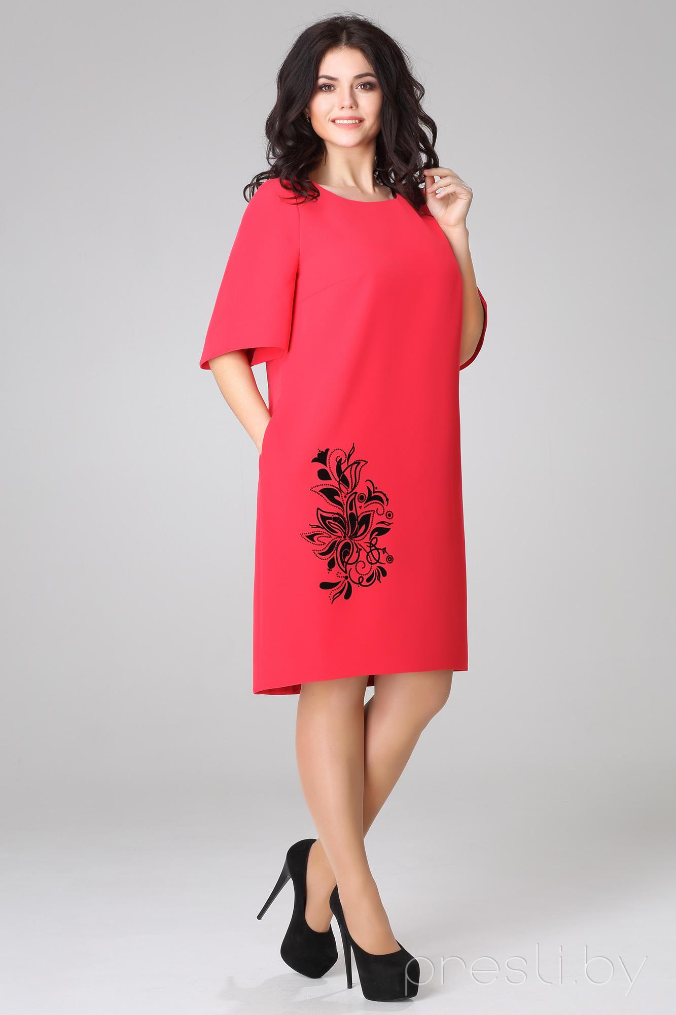 Платье Bonna Image 16-158 красный