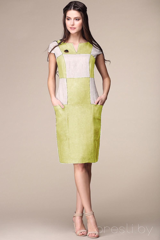 """Платье Faufilure В161 """"олива"""""""