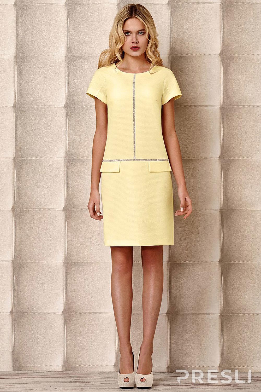 "Платье Prestige 2780 ""лимон"""