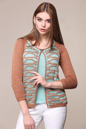 Джемпер My Fashion House 916 коричневый