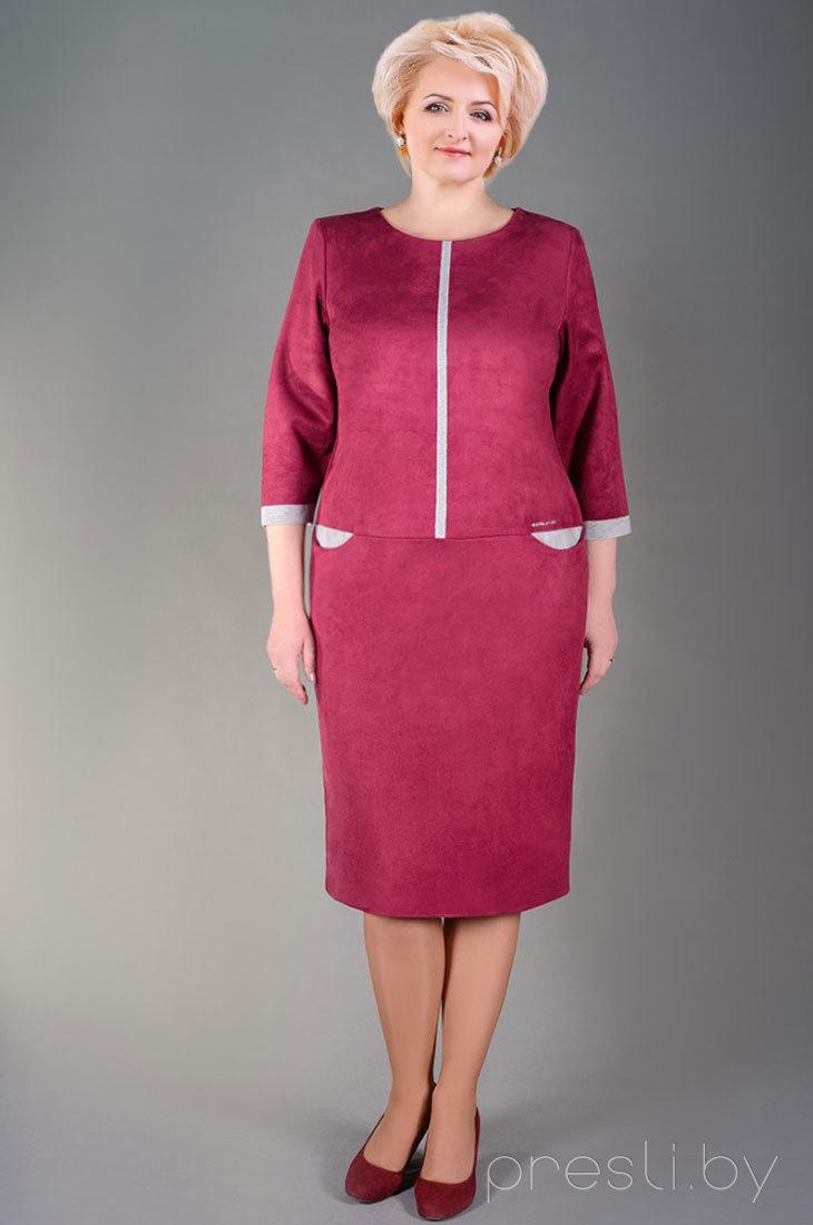 Платье MANKLOVER 665 марсала