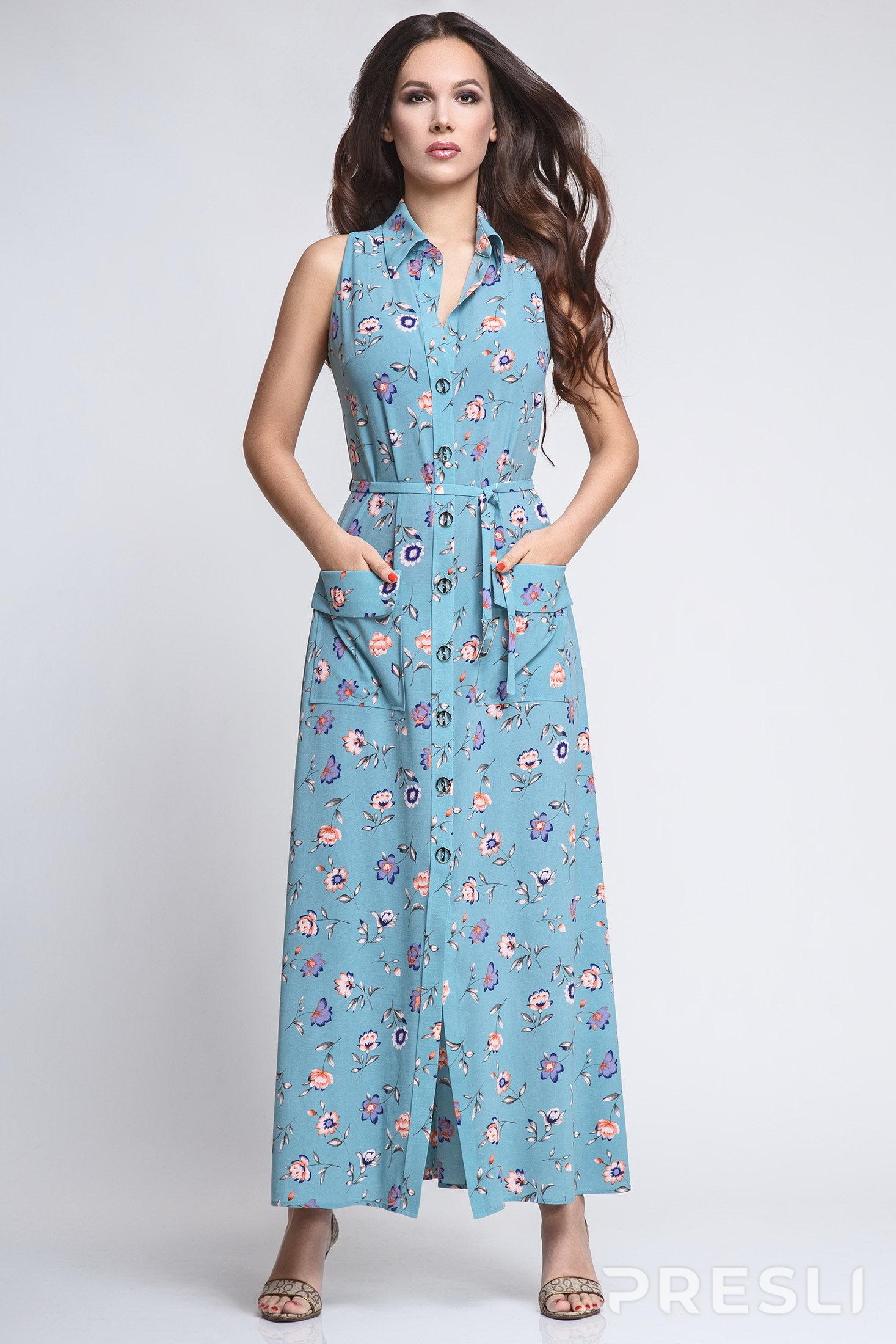 Платье Teffi style 1194 X дымка