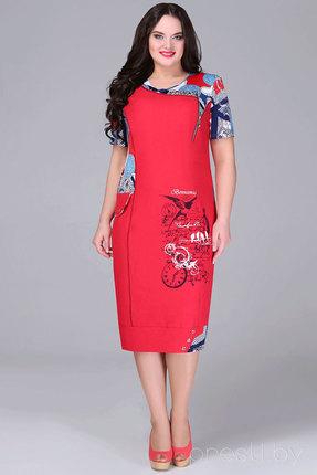 Платье Bonna Image 13-205 красный