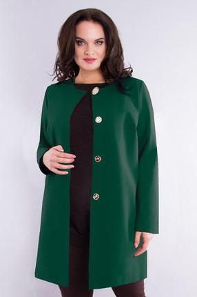 женский кардиган дали, зеленый
