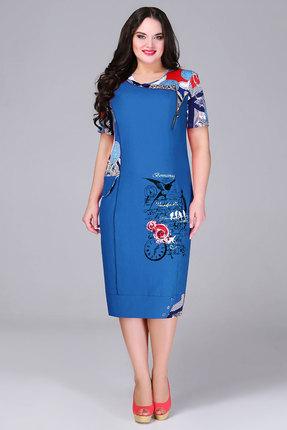 Платье Bonna Image 13-205 синие тона