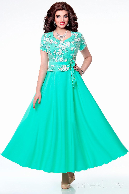 Платье РАСПРОДАЖА 4028.1 мята