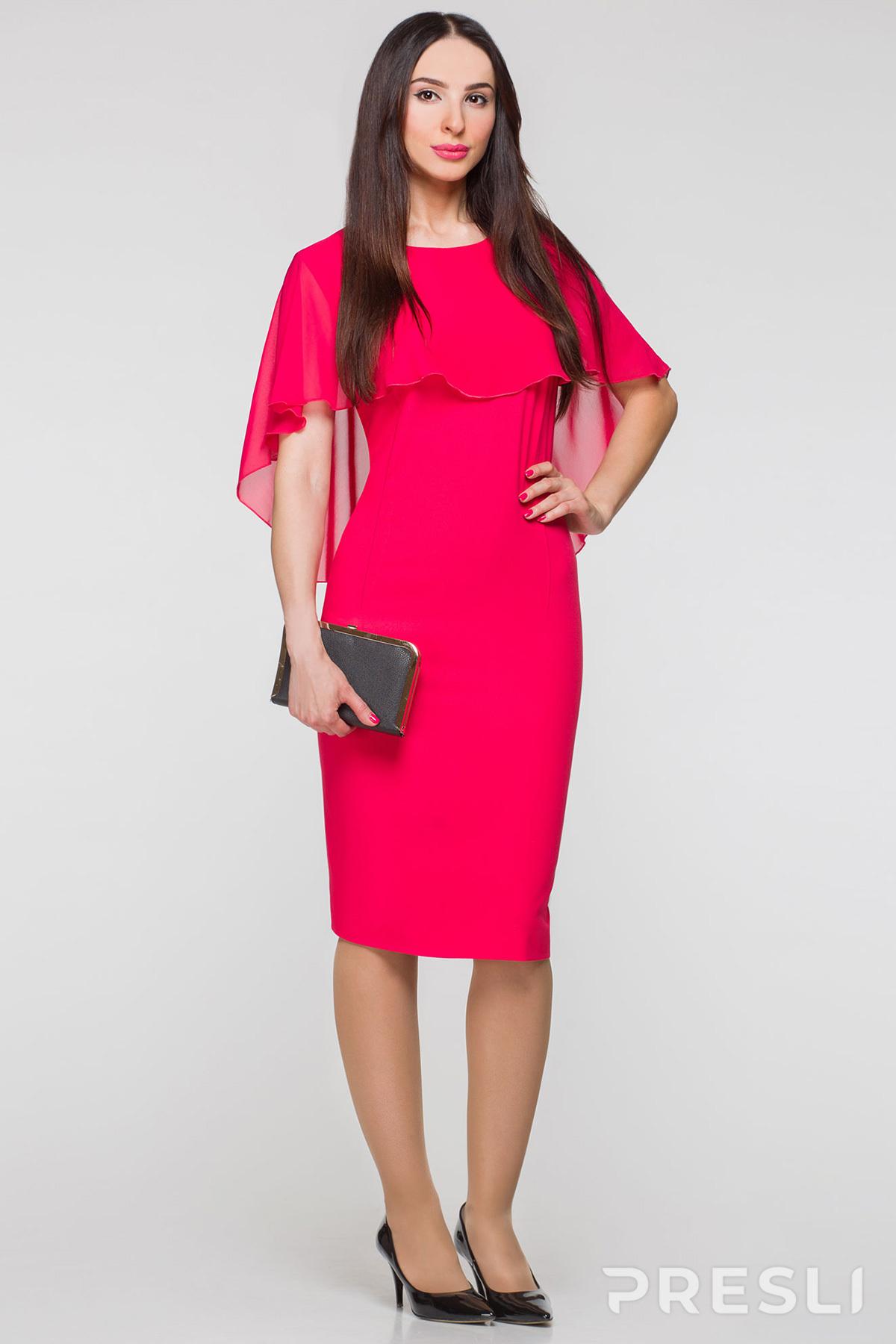 Платье Panda 358380 красные тона