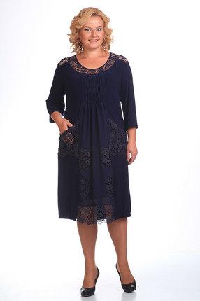 Платье Pretty 201 темно синий