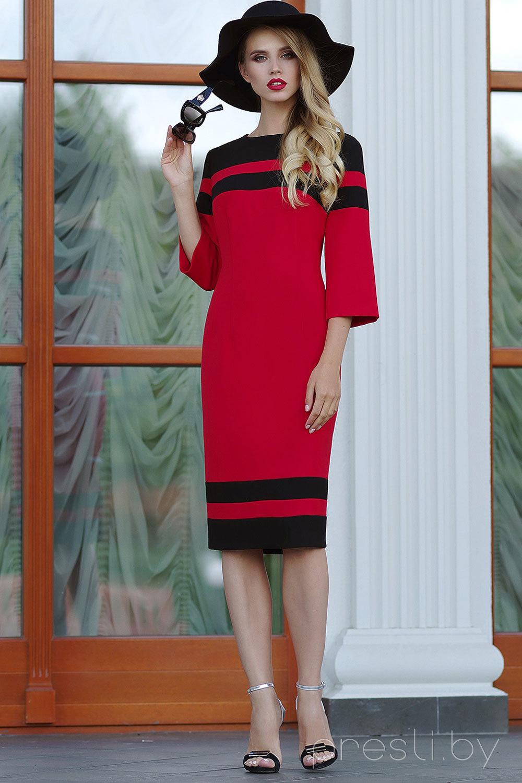 Платье ЛЮШе 1281 красный