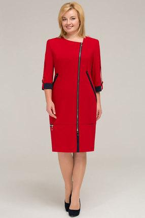 Платье Теллура-Л 1201 красный