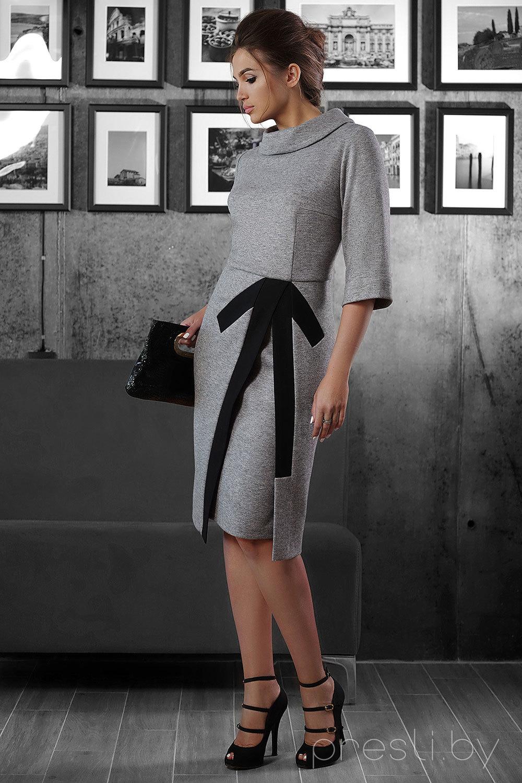 Платье РАСПРОДАЖА 1320 серый