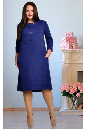 Платье Тэнси 208 василек