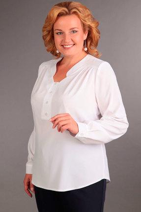 женская блузка асолия, белая