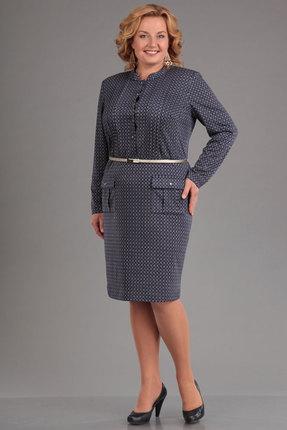 Платье Djerza 1400 синие тона от PRESLI