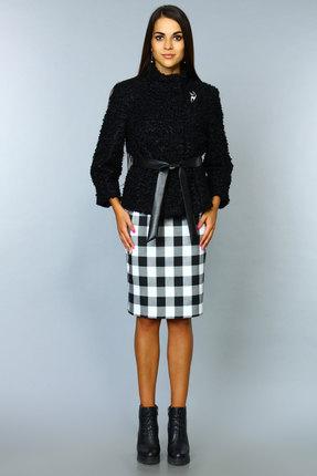 Купить со скидкой Комплект юбочный Alani 407/1 черный+клетка