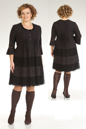 Платье Мублиз 638 графит