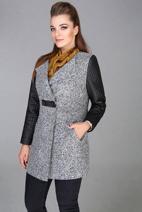 Купить со скидкой Пальто Bonna Image 16-200 серый