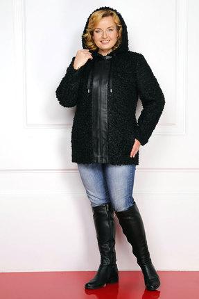 женское пальто milana, черное