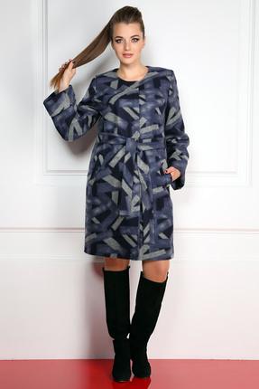 Пальто Milana 780 серые тона Milana