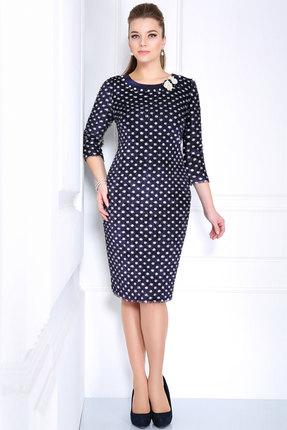 Купить Платье Matini 31039 синие тона, Платья, 31039, синие тона, Плательная ткань (55% нейлон, 45% пэ.)., Мультисезон