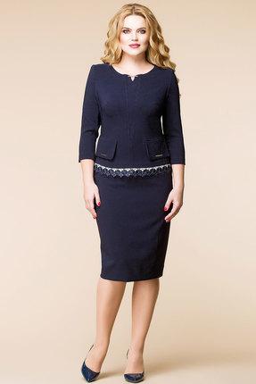 Купить Комплект юбочный Romanovich style 2-1379 синие тона, Юбочные, 2-1379, синие тона, Текстиль: 95% ПЭ, 5% спандекс, Мультисезон