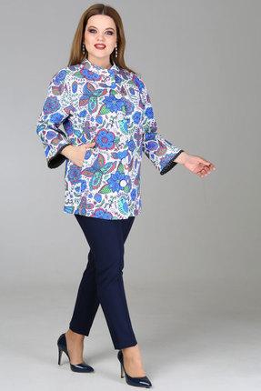 Купить со скидкой Жакет Djerza 076 голубые тона