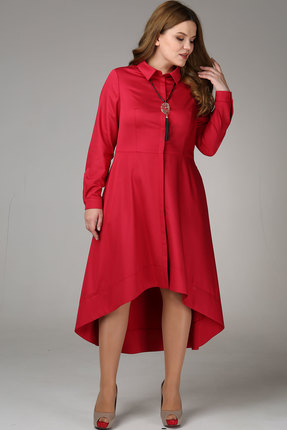 Купить Платье Bonna Image 237 красный, Платья, 237, красный, ПЭ 65%, Вискоза 35%, Мультисезон