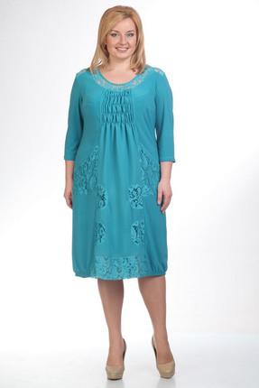 Купить Платье Pretty 201 бирюзовый, Платья, 201, бирюзовый, 95% полиэстр 5% спандекс, 100% полиэстр, Мультисезон