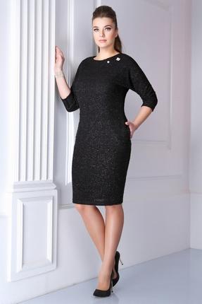 Купить Платье Магия Моды 1159 черный, Платья, 1159, черный, 100% ПЭ, Мультисезон