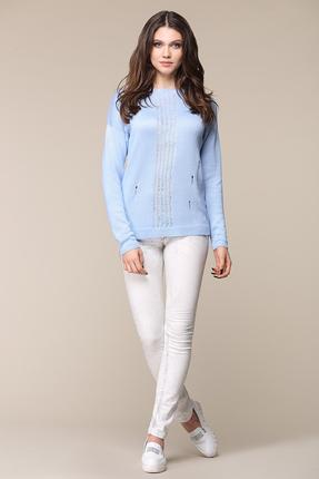 Фото - Жакет My Fashion House 3195 голубой голубого цвета