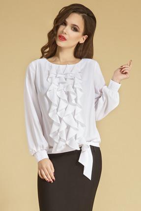 Блузка Teffi style 1207 белый