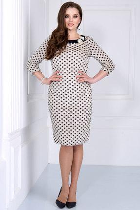 Купить Платье Matini 31039 молочные тона, Платья, 31039, молочные тона, Плательная ткань (55% нейлон, 45% пэ.)., Мультисезон