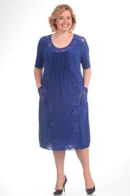 Платье Pretty 201-1 василек