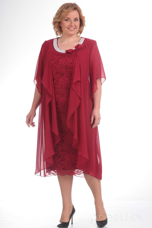 Платье Pretty 343 бордо