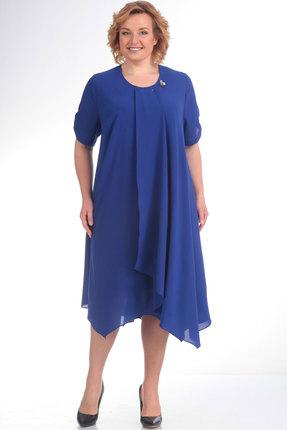 женское вечерние платье algranda, синее