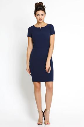 Платье PIRS 112 синий, Платья, 112, синий, 96% полиэстр 4% спандекс, Мультисезон - купить со скидкой