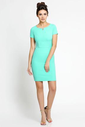 Купить Платье PIRS 112 светло бирюзовый, Платья, 112, светло бирюзовый, 96% полиэстр 4% спандекс, Мультисезон