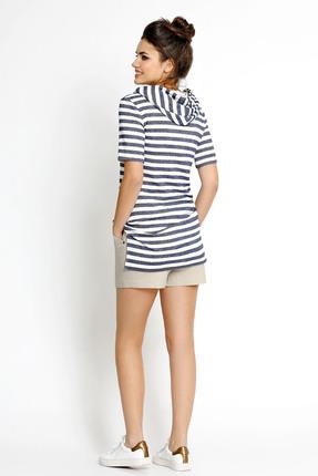 Комплект с шортами PIRS 114 синий с белым от PRESLI