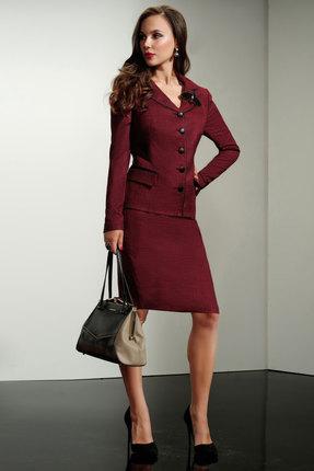 Комплект юбочный Lissana 3180 бордо