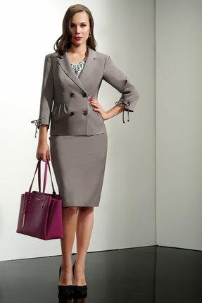 Купить со скидкой Комплект юбочный Lissana 3184 серый
