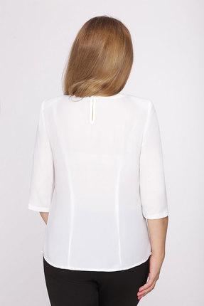 Блузка Дали 4131 молочный с цветами от PRESLI