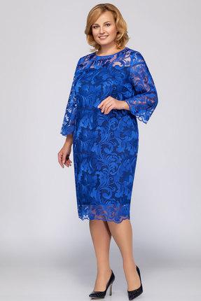 Платье LaKona 969 василек, Платья, 969, василек, Вискоза 80%+ПЭ 20%, Мультисезон  - купить со скидкой