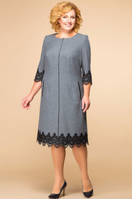 Платье Romanovich style 1-1284 серые тона