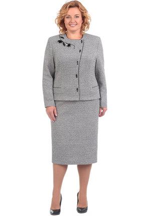 Купить со скидкой Комплект юбочный Линия-Л А-1605 серый
