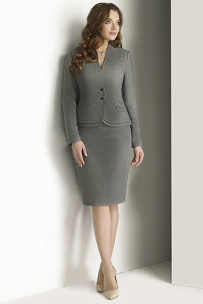 Комплект юбочный ЮРС 17-721-2 серый