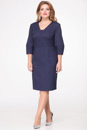 Купить Платье Djerza 1406 синие тона, Платья, 1406, синие тона, ПЭ - 100%, Мультисезон