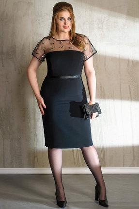 Платье Anna Majewska 993 черный