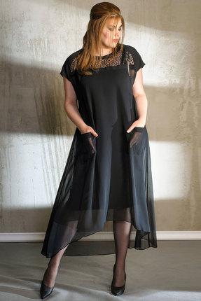 Платье Anna Majewska 1020 черный
