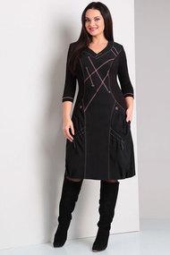 Платье Axxa 54894 черный