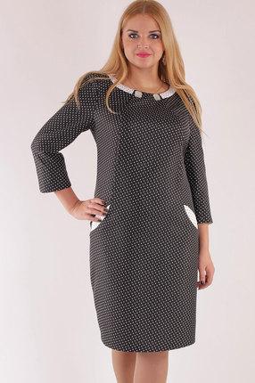 Купить Платье SWALLOW 051 черные тона, Платья, 051, черные тона, Полиэстер 70%, вискоза 25%, спандекс 5%, Мультисезон